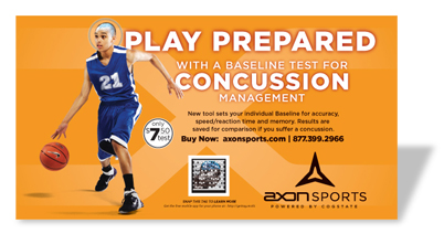 Axon Sports Ad in Eastbay Catalog