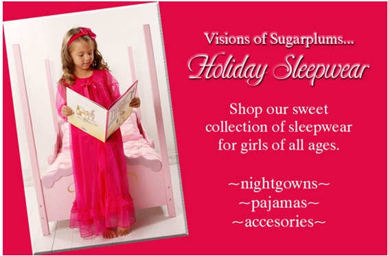 Girls Holiday Sleepwear