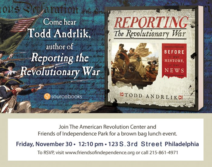Reporting on the Revolutionary War