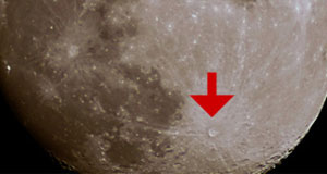 The Moon's Tycho Crater