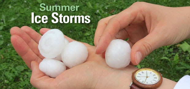 Summer Ice Storms