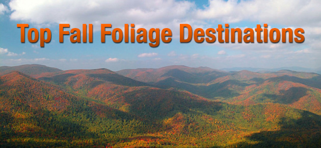 Top Fall Foliage Destinations