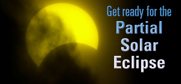 Get Ready For The Partial Solar Eclipse!
