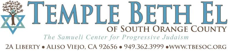 Temple Beth El of South Orange County