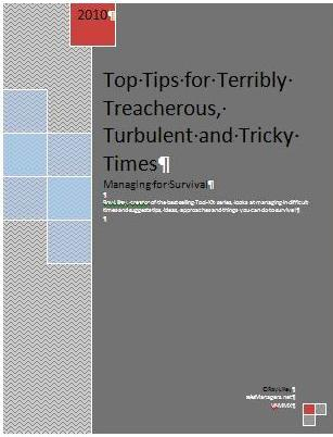 Top Tips Cover
