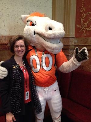 RZ, Broncos Mascot