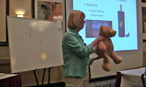 Deborah Jones teaching