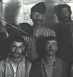 Forestry workers circa 1900