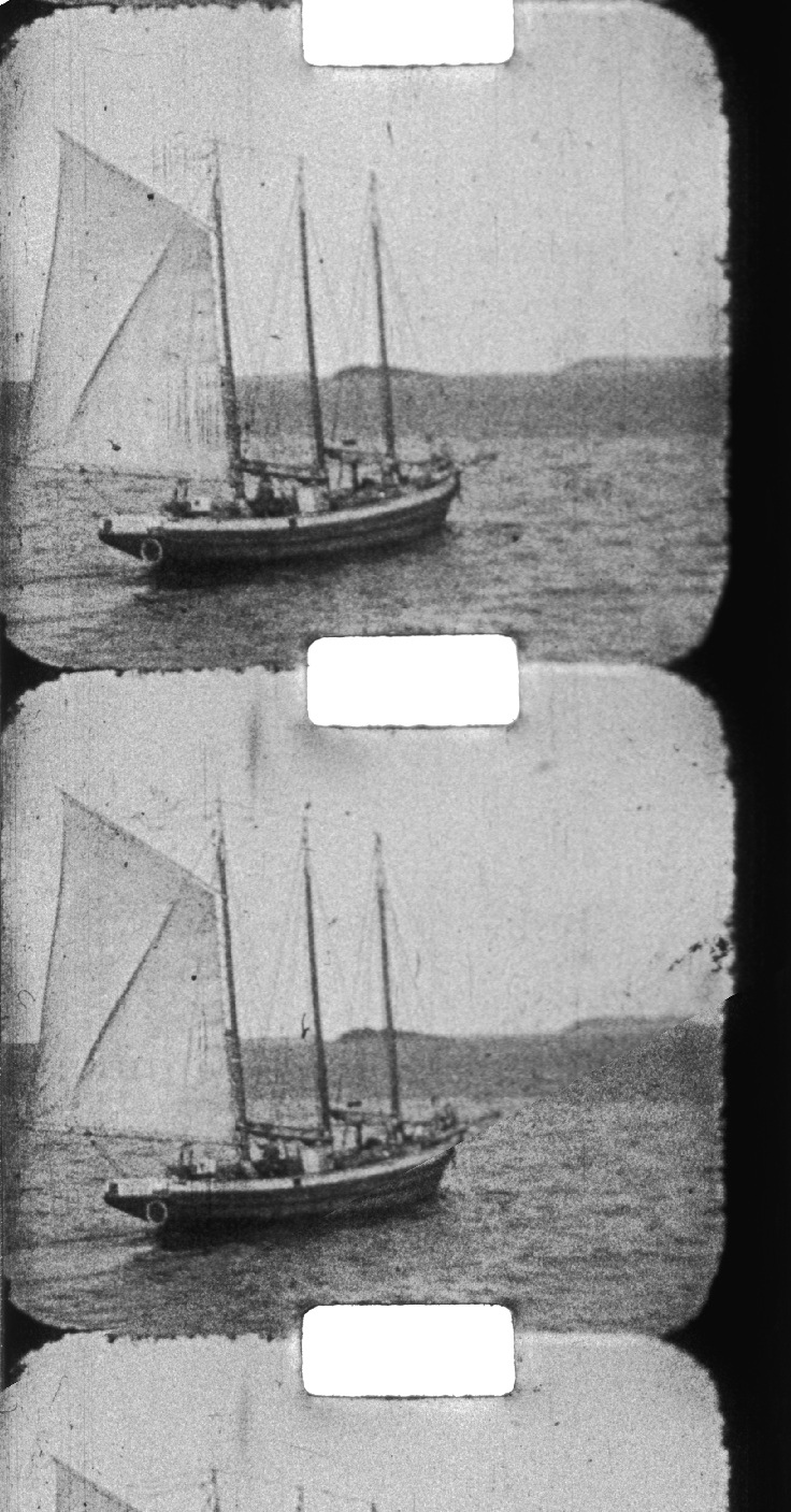 Ship frame enlargement for workshop illustration