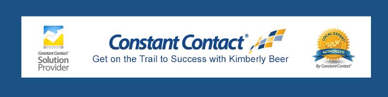 Constant Contact & Kimberly Beer Header