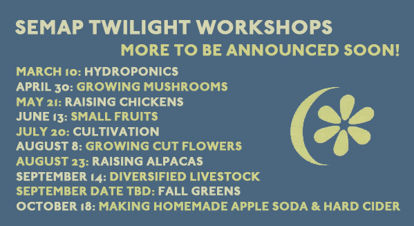 SEMAP Twilight Workshop Listing
