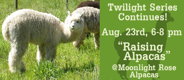 Raising Alpacas Twilight Workshop