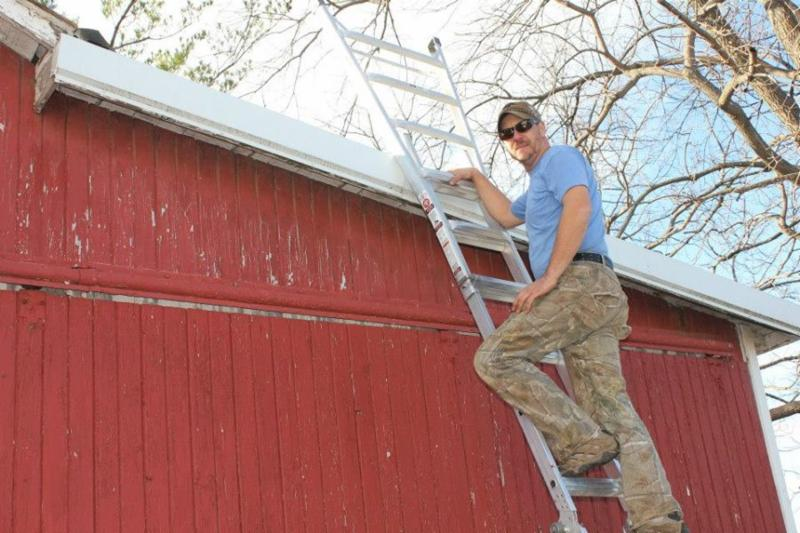 Tim McConley is our maintenance person at the farm. He did a great job on the project.