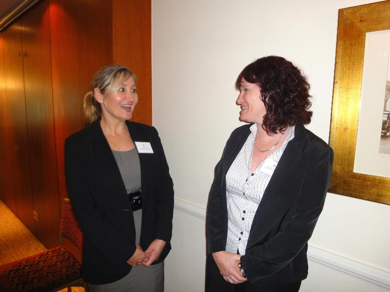 New Guardianship Care Managers, left, Clare Ferris, right, Michelle Ingleton