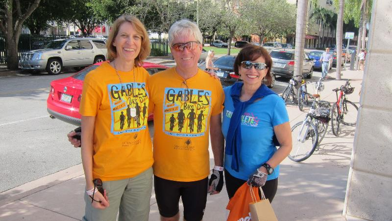 Bike Walk Coral Gables riders at 2013 Tour of Kitchens