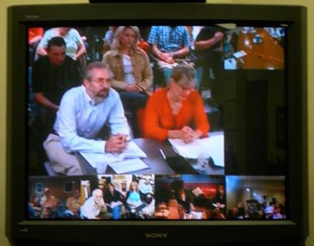 IPI Videoconference screen