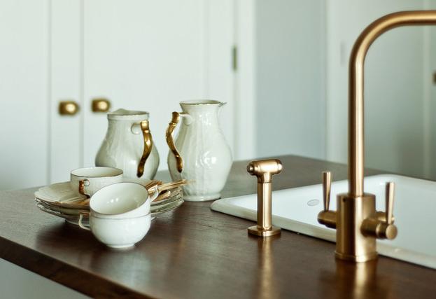 Brass Kitchen Fixtures: Pinterest