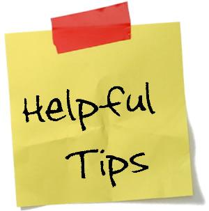 Helpful Tips Post-it