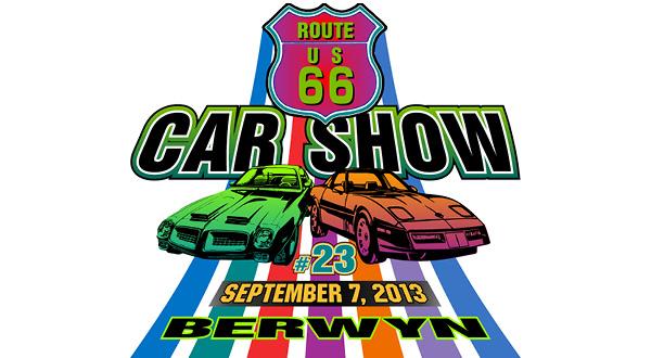 Berwyn Rt Car Show Sponsored By Paisans Pizzeria Bar - Rt 66 car show