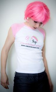 Girlie Girl Shop Tee