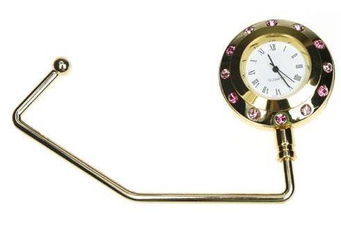 Gold Watch Purse Hook