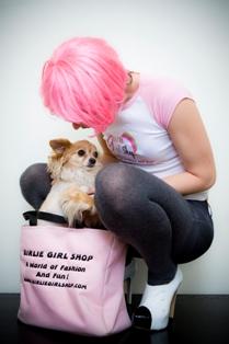 Girlie Girl Pink Tote