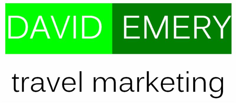 David  Emery Travel Marketing  Logo