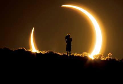 Lunar Eclipse Gold