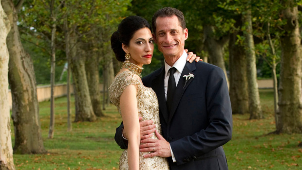 Anthony Weiner and wife Huma
