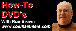 Cool Hammers with Ron Brown logo 40%