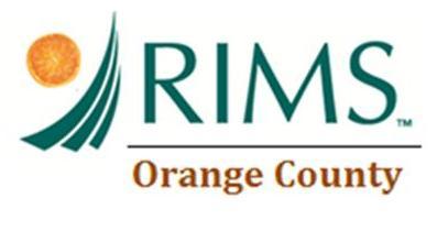 OCRIMS Logo with Orange