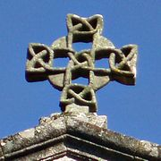 romanesque cross