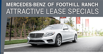 Mercedes Benz Of Foothill Ranch Attractive Lease Specials