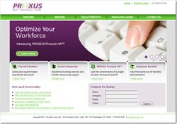 PROXUS' New Website