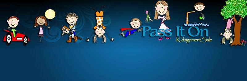 Pass It On banner logo
