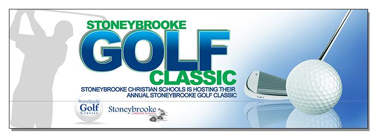 2014 Golf Banner.Blue