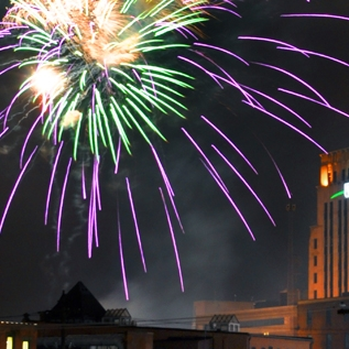 skyline fireworks 2011