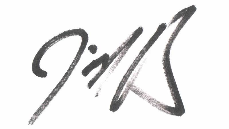 Jerick's signature