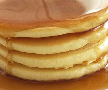 Stack Of Free Yummy Pancakes Shown