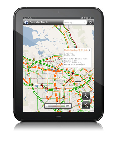 Beat the Traffic v1.0 for HP Touchpad