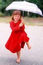 Red Girl Umbrella