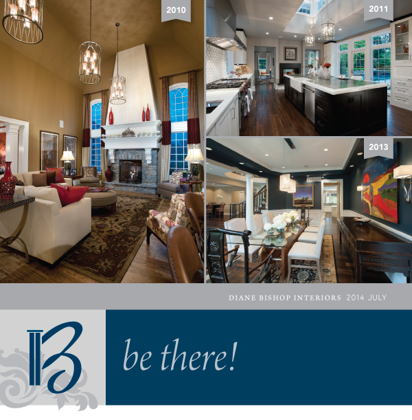 Image: Header - Diane Bishop Interiors - July 2014 - Be There