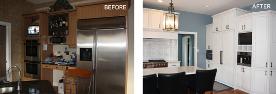 Image: Kitchen - Before & After
