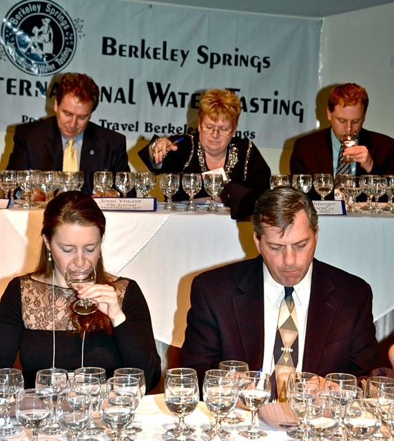 Berkeley Springs International Water Tasting