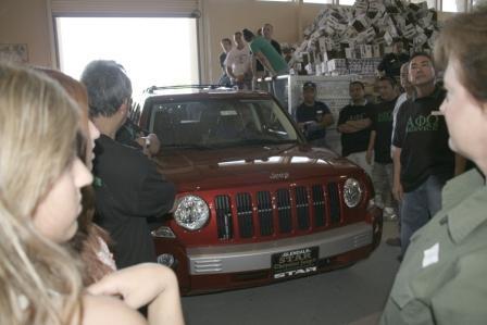 Jeep Patriot-250,000th Pkg