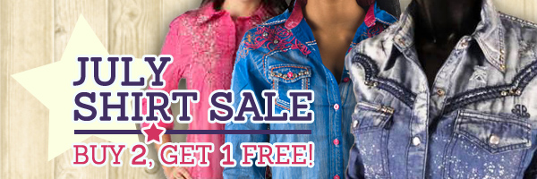 Buy 2 Shirts, Get the 3rd Shirt Free