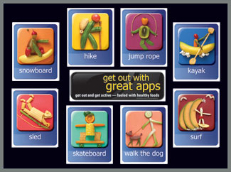 Get Out w/Great Apps Bulletin Board Kit