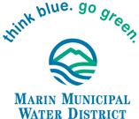 Think Blue Go Green Logo