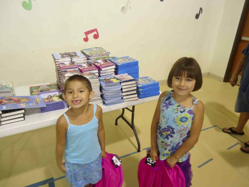School Supplies Drive 2013