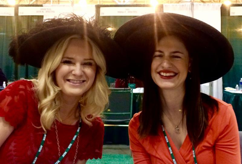 Katey Stanford and Celine Alis at NTA 2015